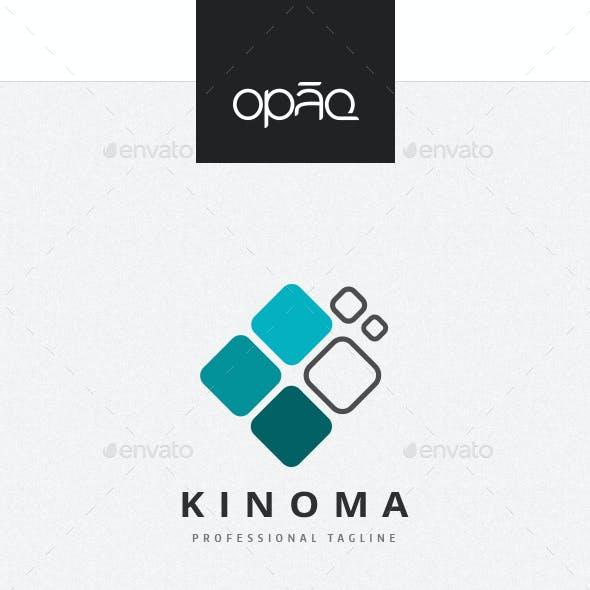 Four Squares Pixel Logo