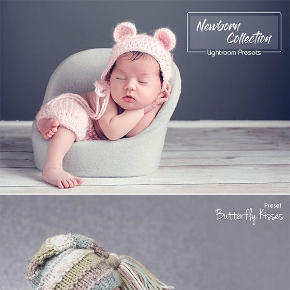 25 Newborn Lightroom Presets