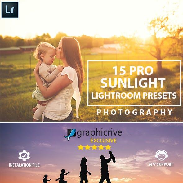 15 Pro Sunlight Lightroom Presets