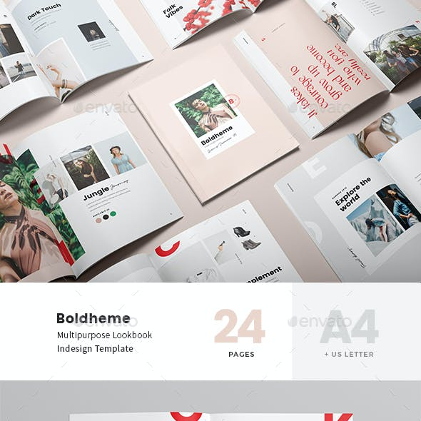 Boldheme / Lookbook & Catalog A4 + Letter