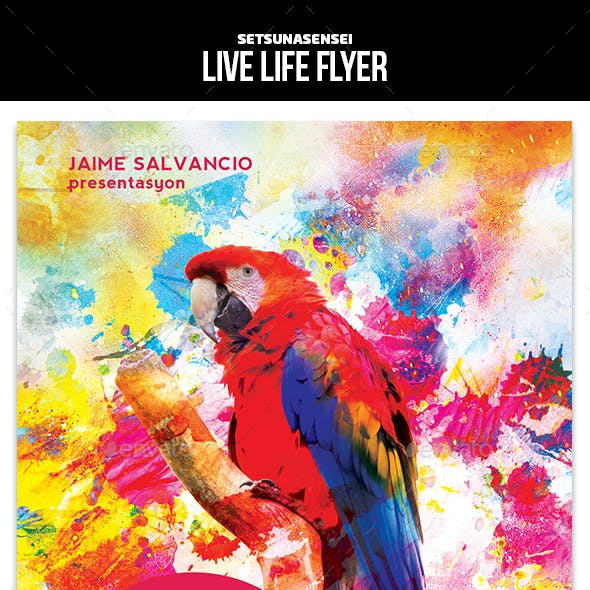 Live Life Flyer