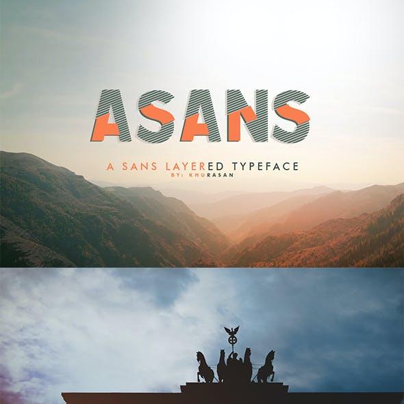 Asans Layer Font