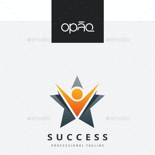 Human Star Success Logo