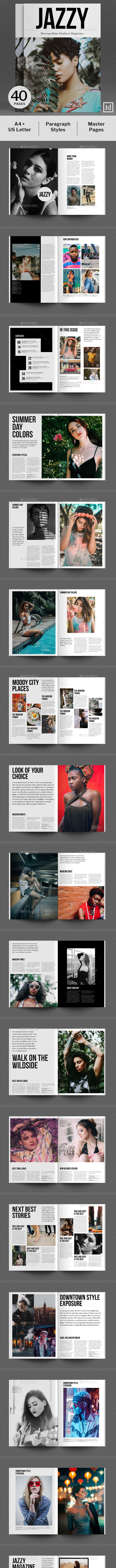 Jazzy – Metropolitan Fashion Magazine - Magazines Print Templates
