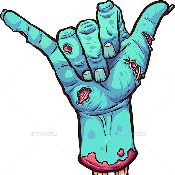 Hang Loose Zombie