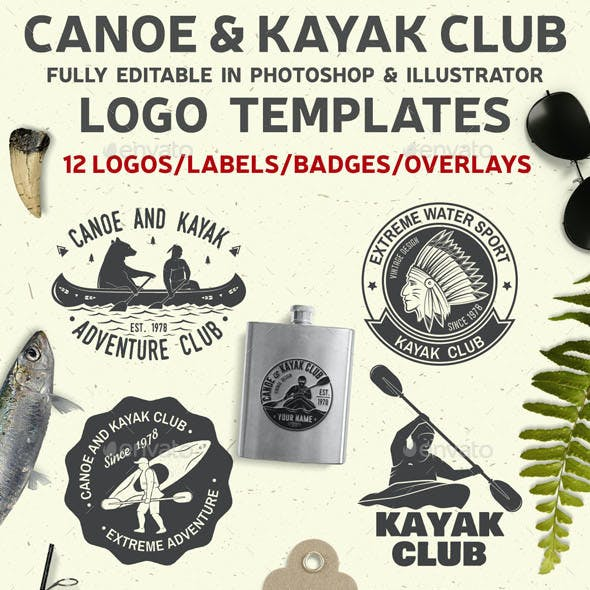 Canoe and Kayak Club Badge