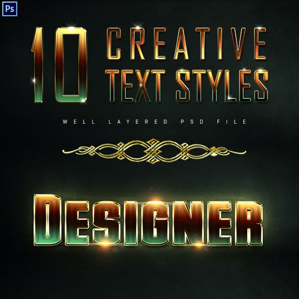 10 Creative Text Styles