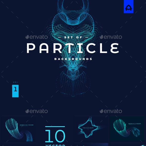 Particle Backgrounds vol 1