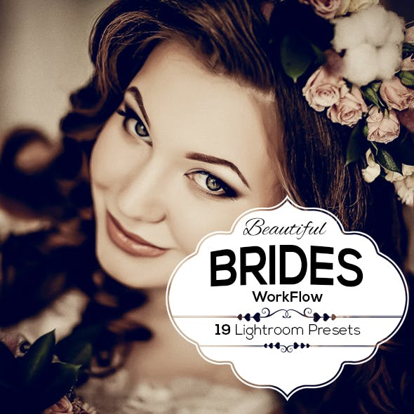 Beautiful Brides Presets For Lightroom 4,5,6,CC