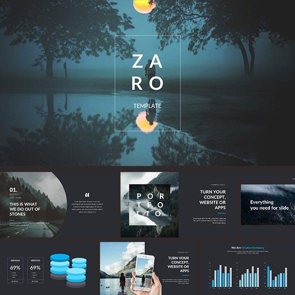 Zaro Premium Google Slide Template