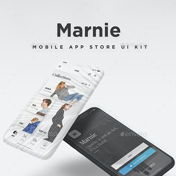 Marnie - Mobile eCommerce Store UI Kit