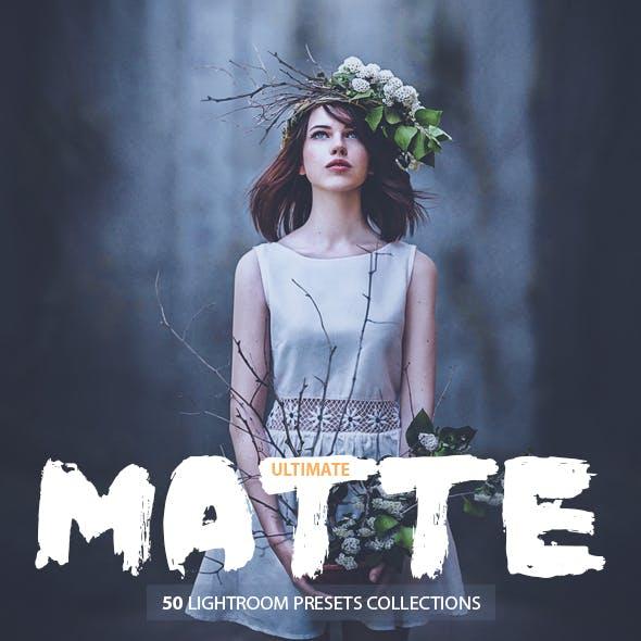 50 Ultimate Matte Presets For Lightroom 4,5,6,CC
