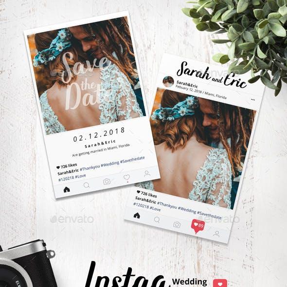 Instag Wedding Invitation