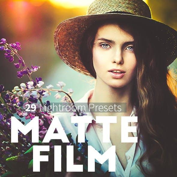 Matte Film Presets For Lightroom 4,5,6,CC