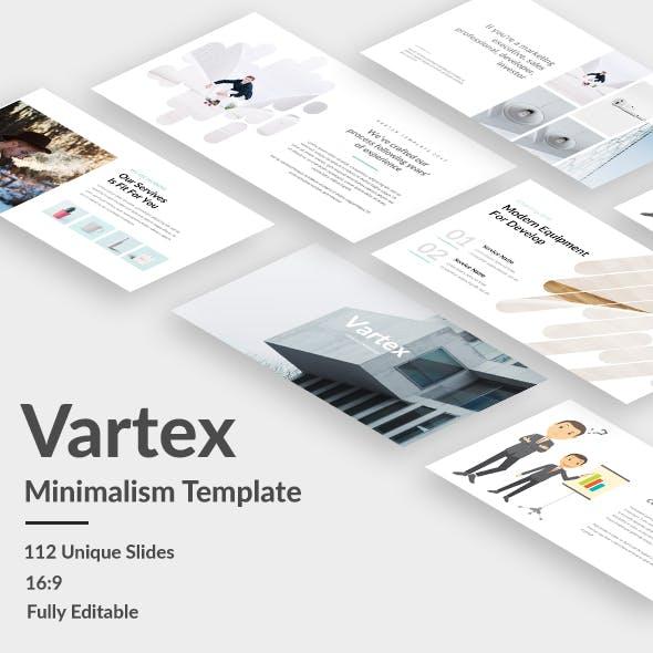 Vartex Minimal Google Slide Template