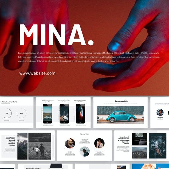 Mina Google Slides