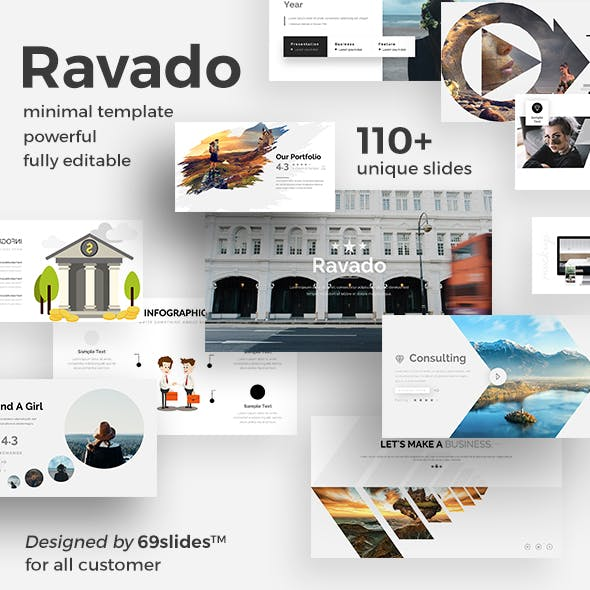 Ravado Creative Keynote Template