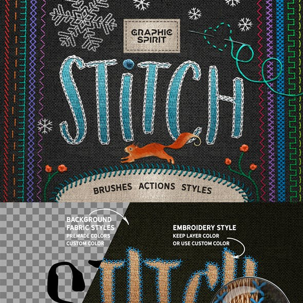 Photoshop Stitch Creative Toolkit