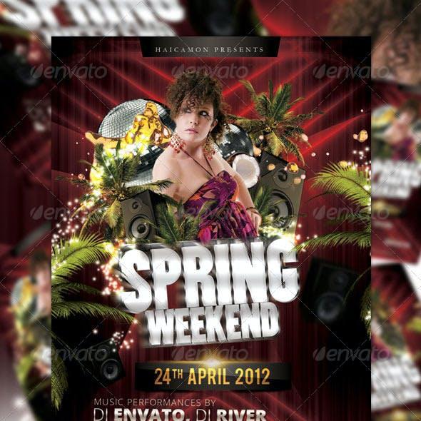 Spring Weekend Flyer
