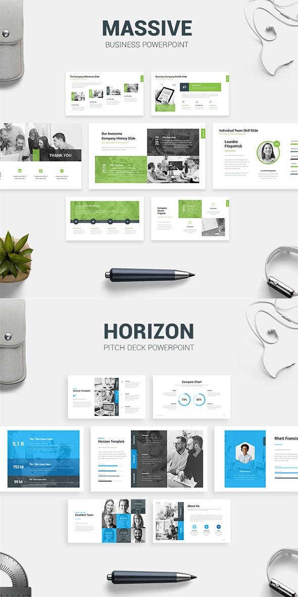 Business Presentation Bundle - PowerPoint Templates Presentation Templates
