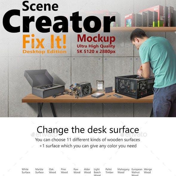 Scene Creator 5K Fix It - Desktop Edition