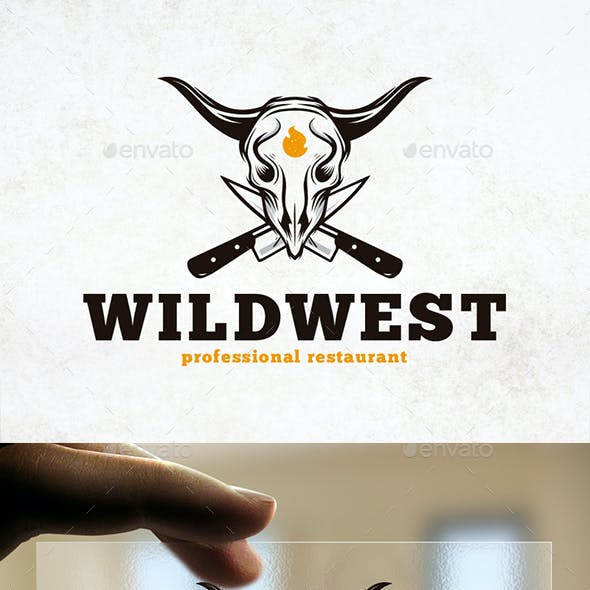 Wild West Restaurant Logo