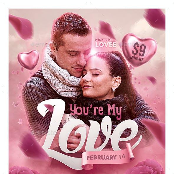 Romantic Valentine Poster