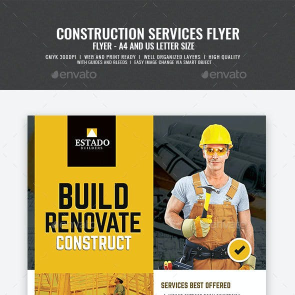 Contractor and Builder Flyer