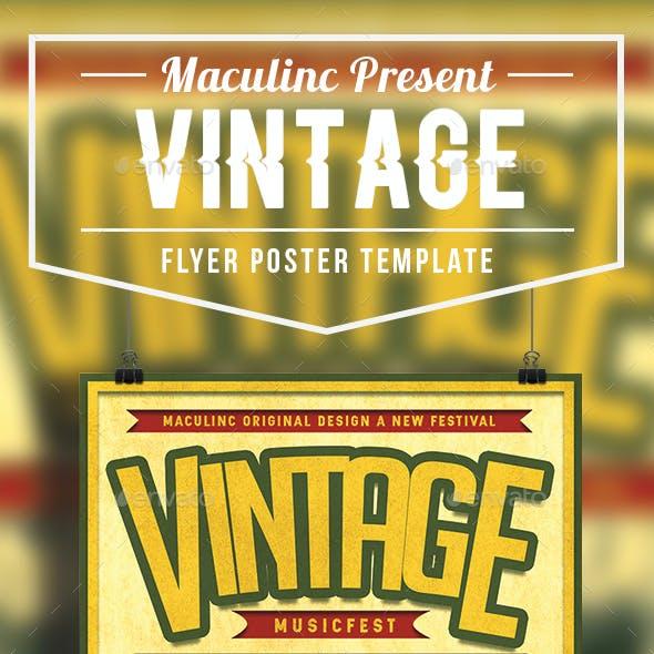 Vintage Flyer/Poster Vol.11
