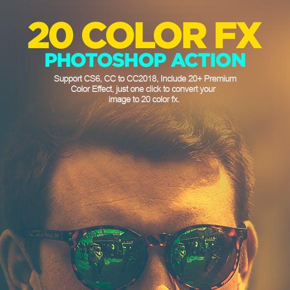 Color Grading Photoshop Action V.01