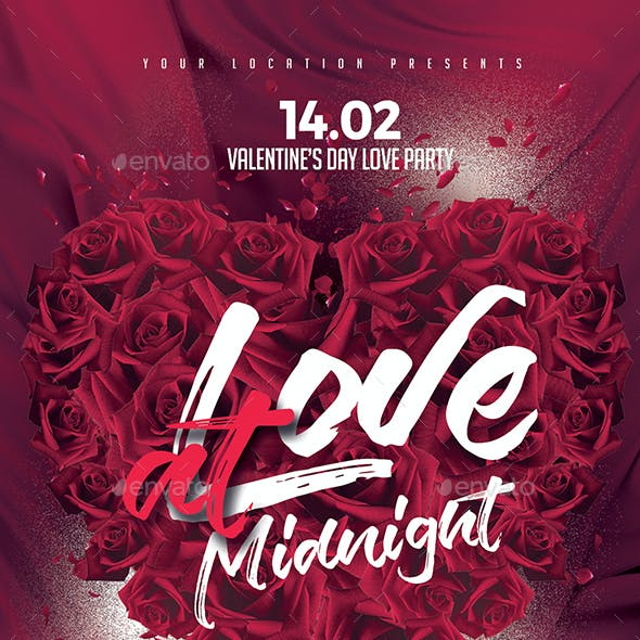 Love at Midnight Flyer