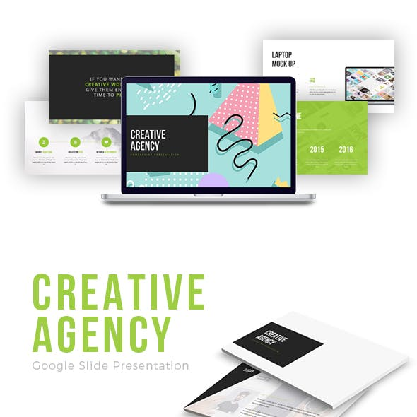 Creative Agency Google Slide Presentation