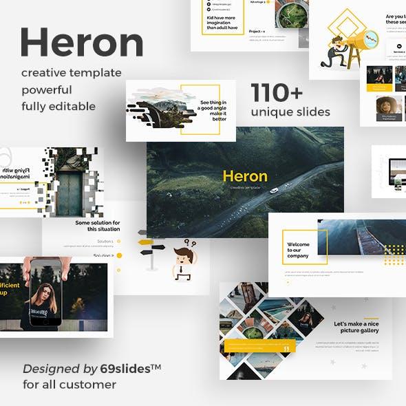 Heron Creative Powerpoint Template