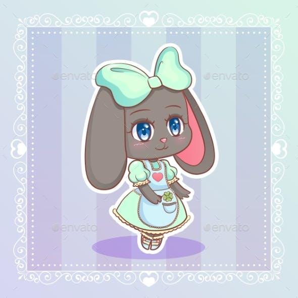 Rabbit Anime Cartoon