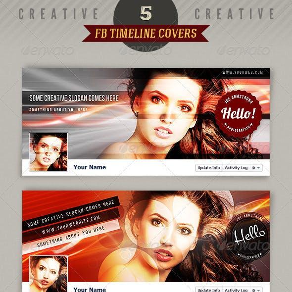 5 Creative Facebook Timeline Covers