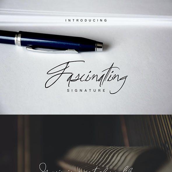 Fascinating Signature