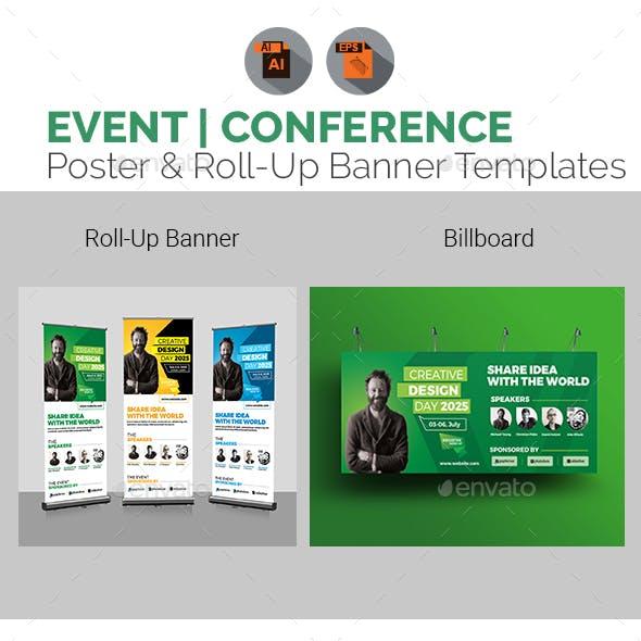 Event | Conference Roll-Up & Billboard Bundle