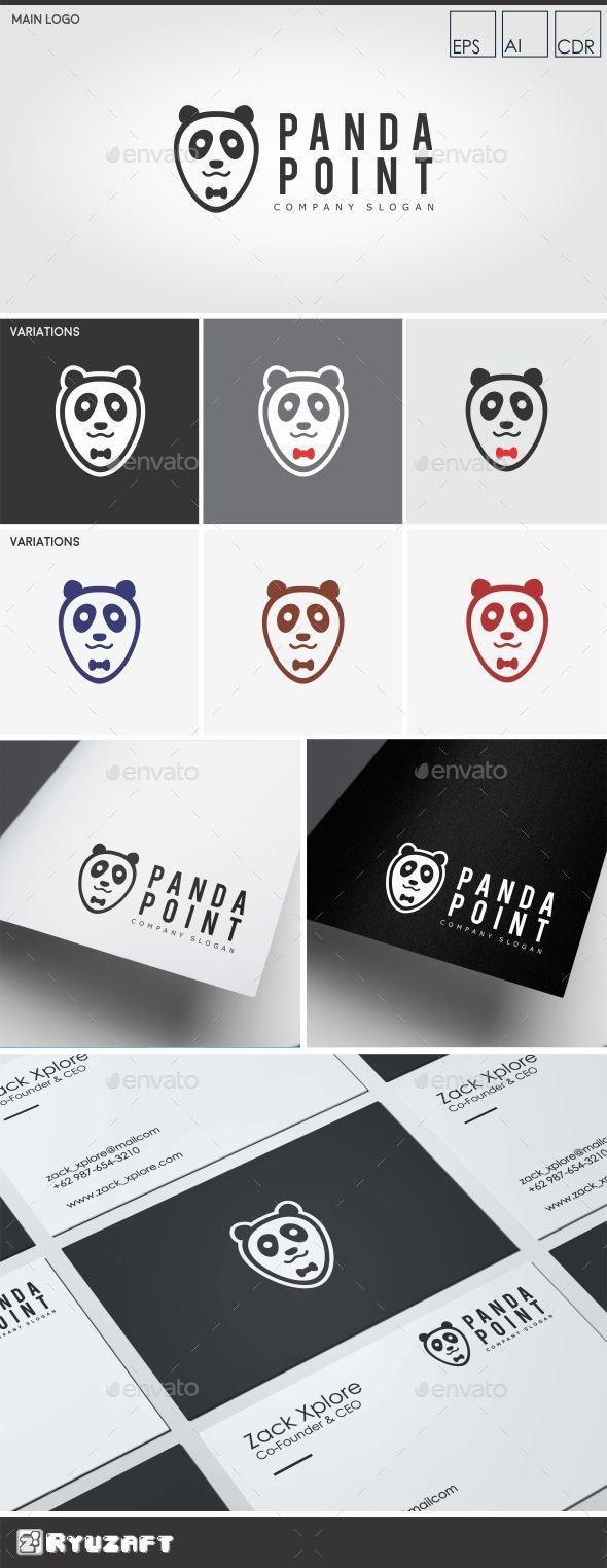 Panda Point - Panda Logo