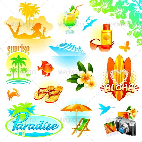 Tropical Resort, Travel and Exotic Holidays
