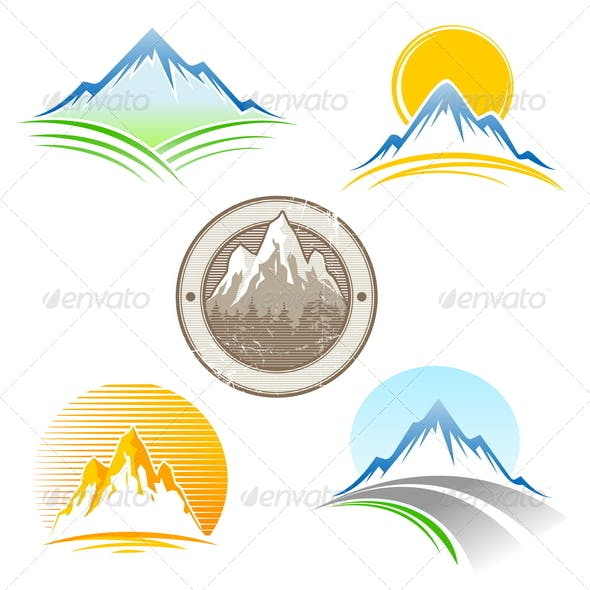 Set of Mountains Emblem
