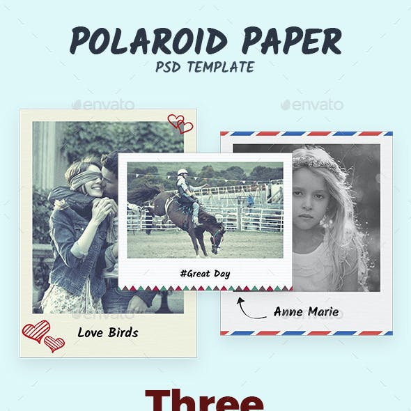 Polaroid Paper
