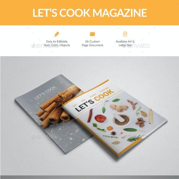 Let's Cook Magazine