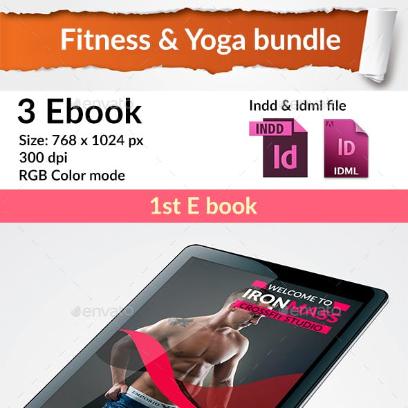 Fitness & Yoga E Book Bundle