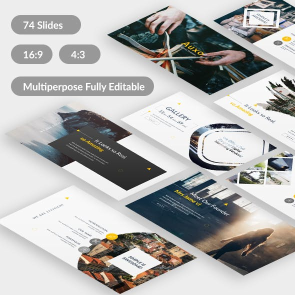 Auxo Premium Multipurpose Google Slide Template