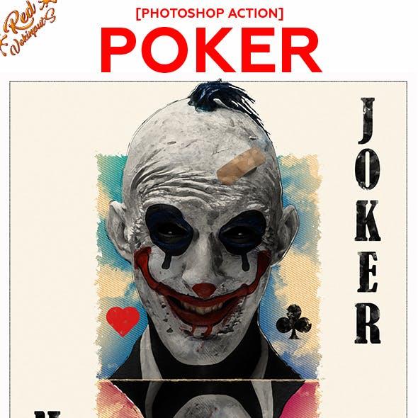 Poker Photoshop Action