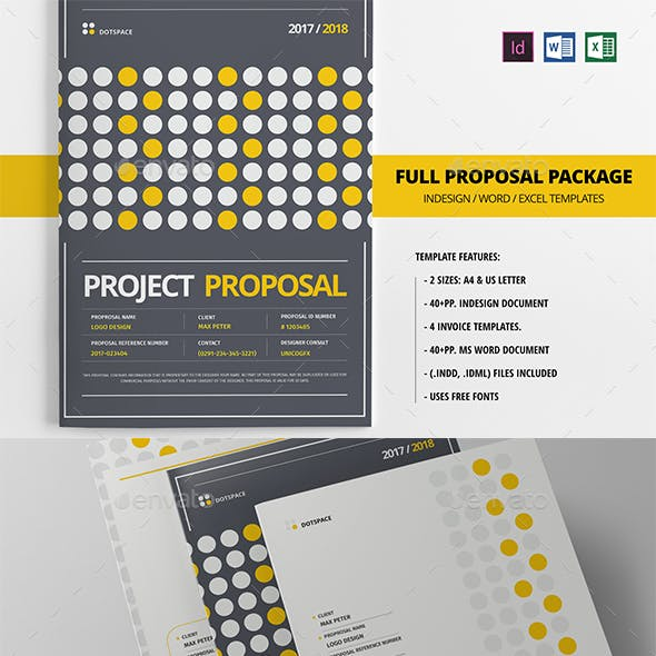 +40 Pages Full Proposal Package A4 / US Letter