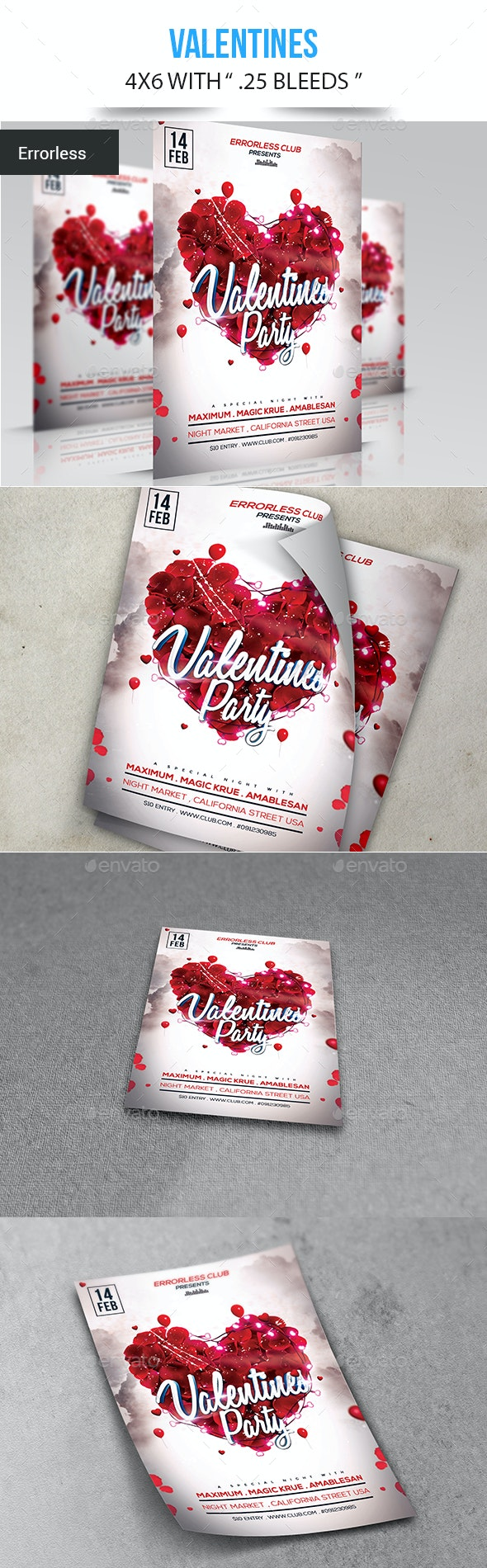 Valentines - Events Flyers