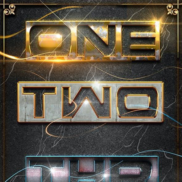 10 3D Text Styles D_53