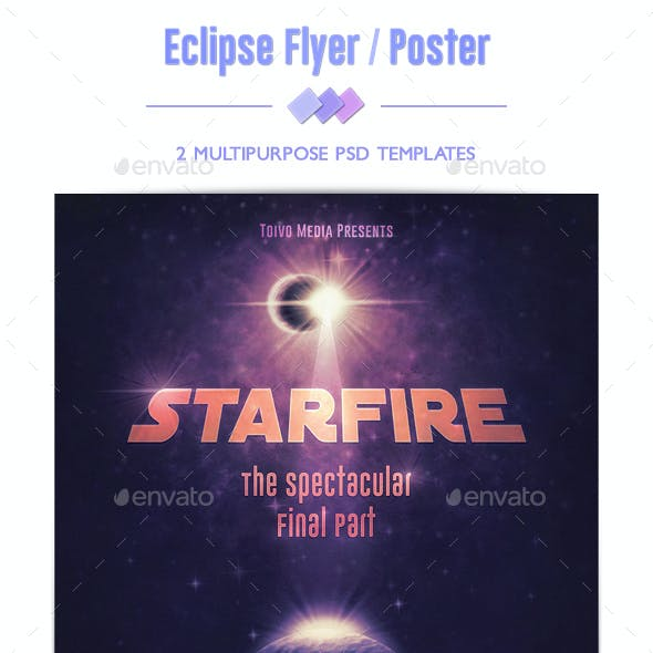 Eclipse Flyer / Poster
