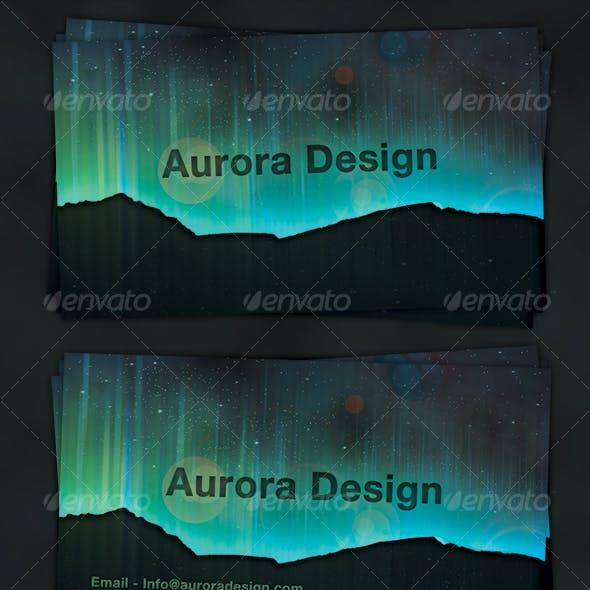 AuroraDesign - Business Card